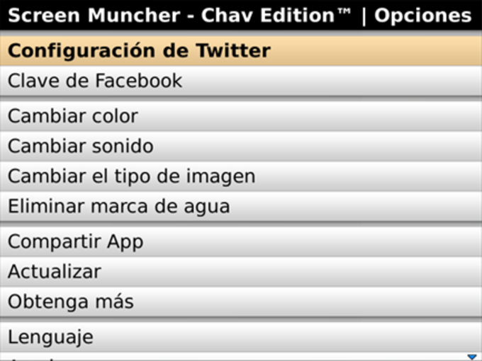 Screen Muncher Chav Edition