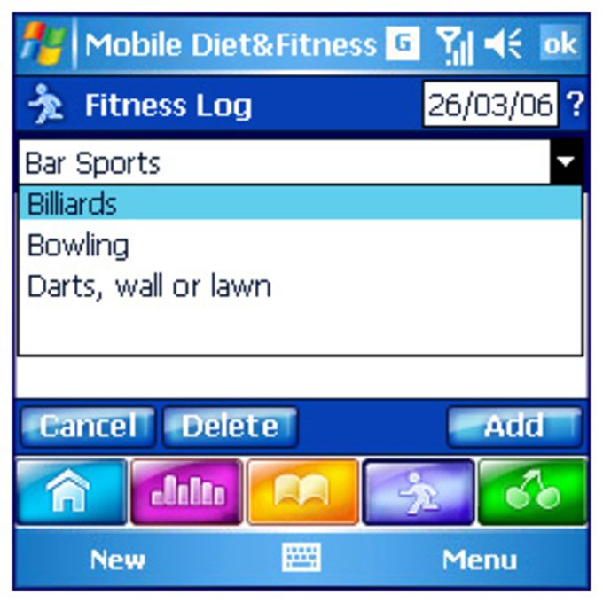 Mobile Diet & Fitness