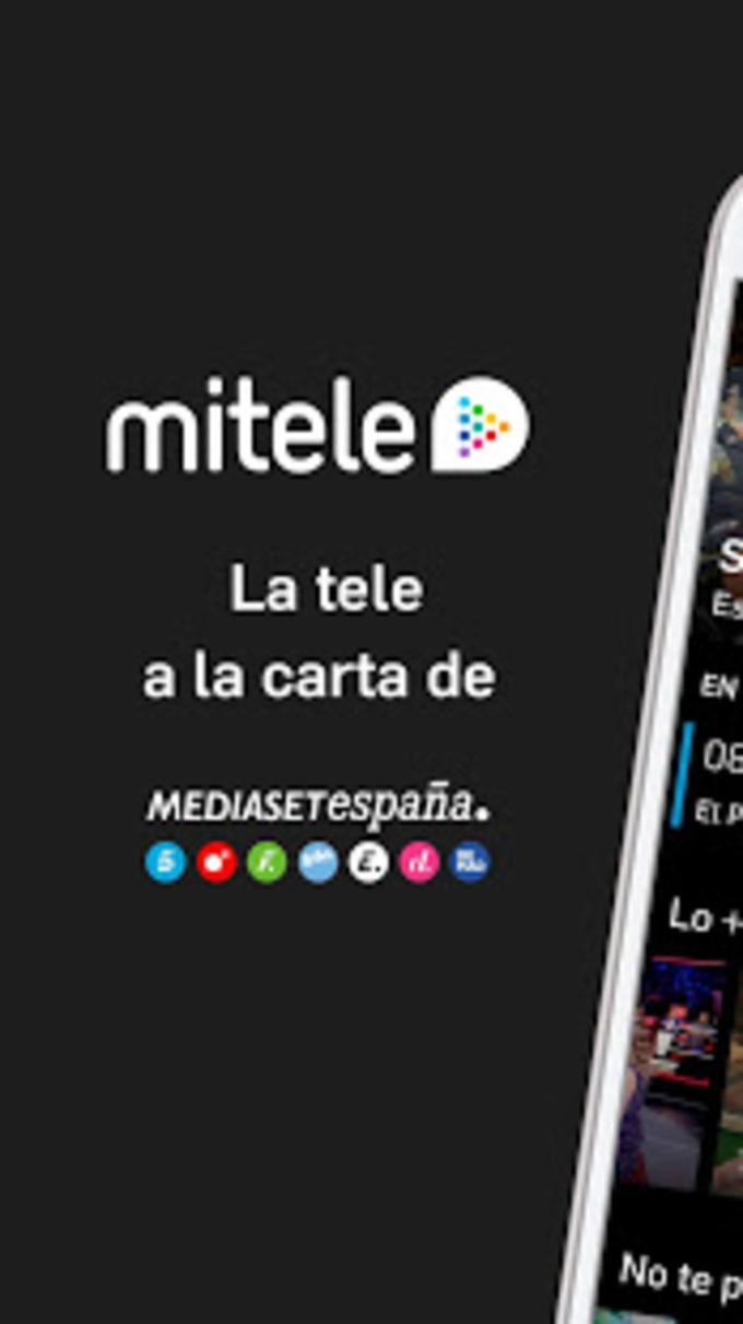 Mitele Android TV - Televisión a la carta