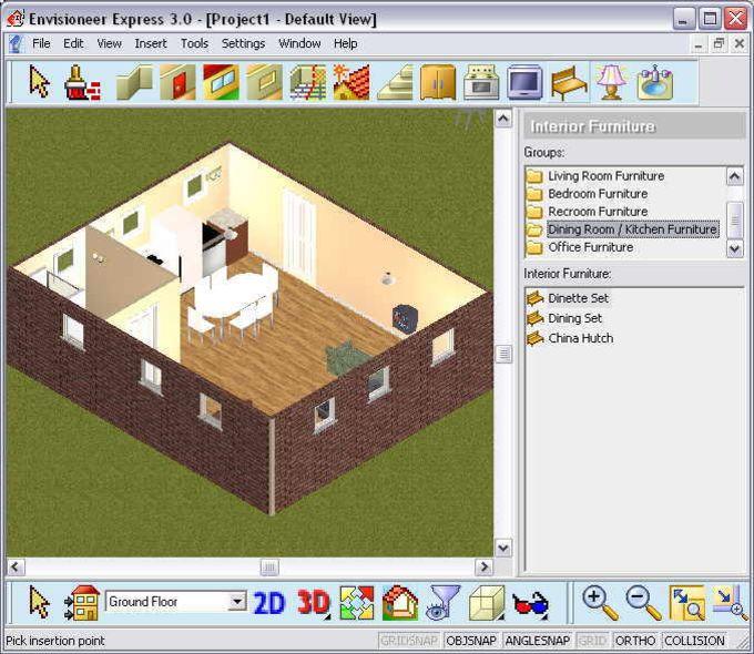 Envisioneer express descargar for Software para diseno de interiores gratis