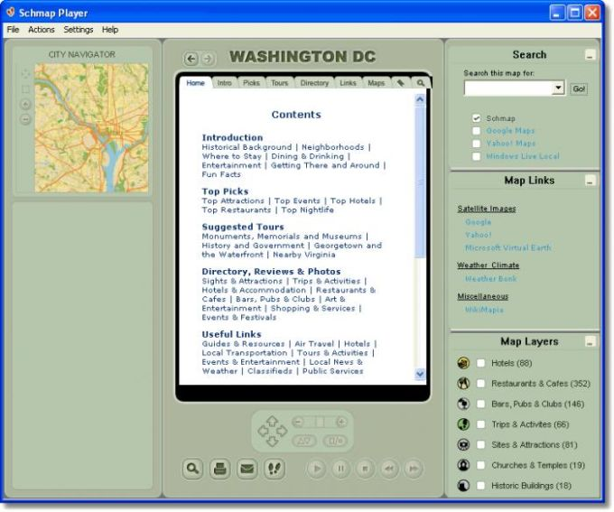 Schmap Washington DC Guide