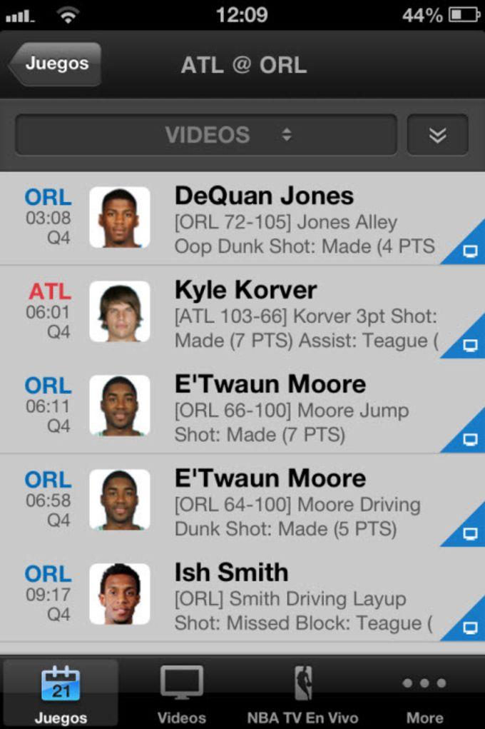 2015 NBA App