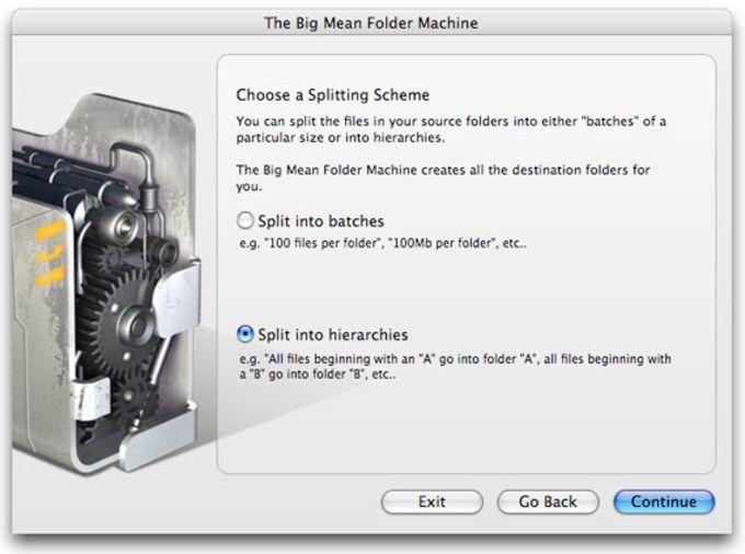 The Big Mean Folder Machine