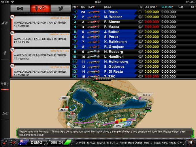 F1 2013 Timing App CP