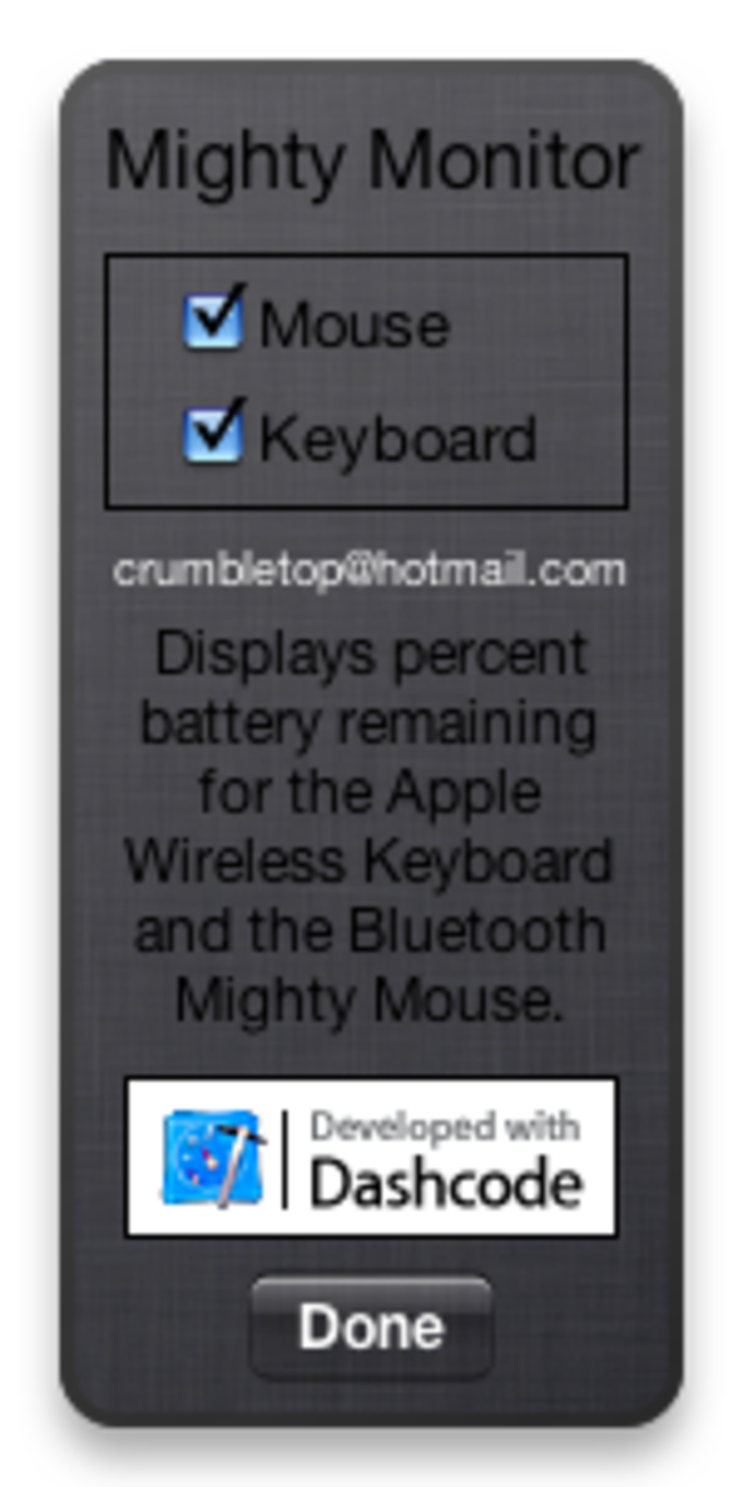 MightyMonitor Widget