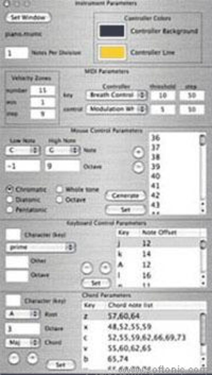 MU MIDI Controller X