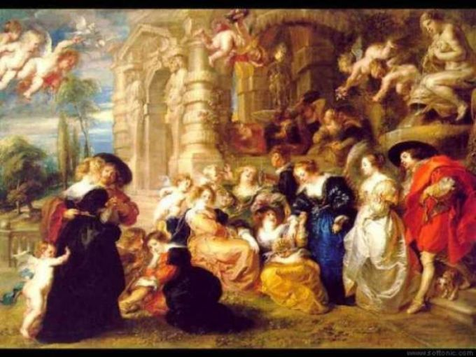 Rubens Gardens of Love Theme