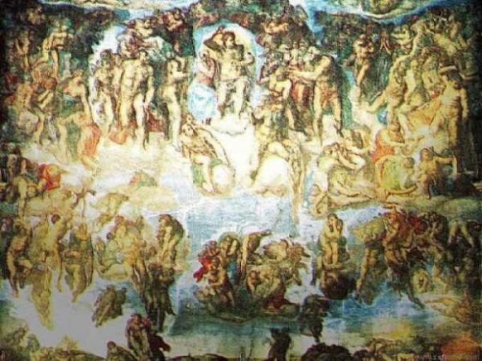 MichelAngelo the Last Judgement Wallpaper