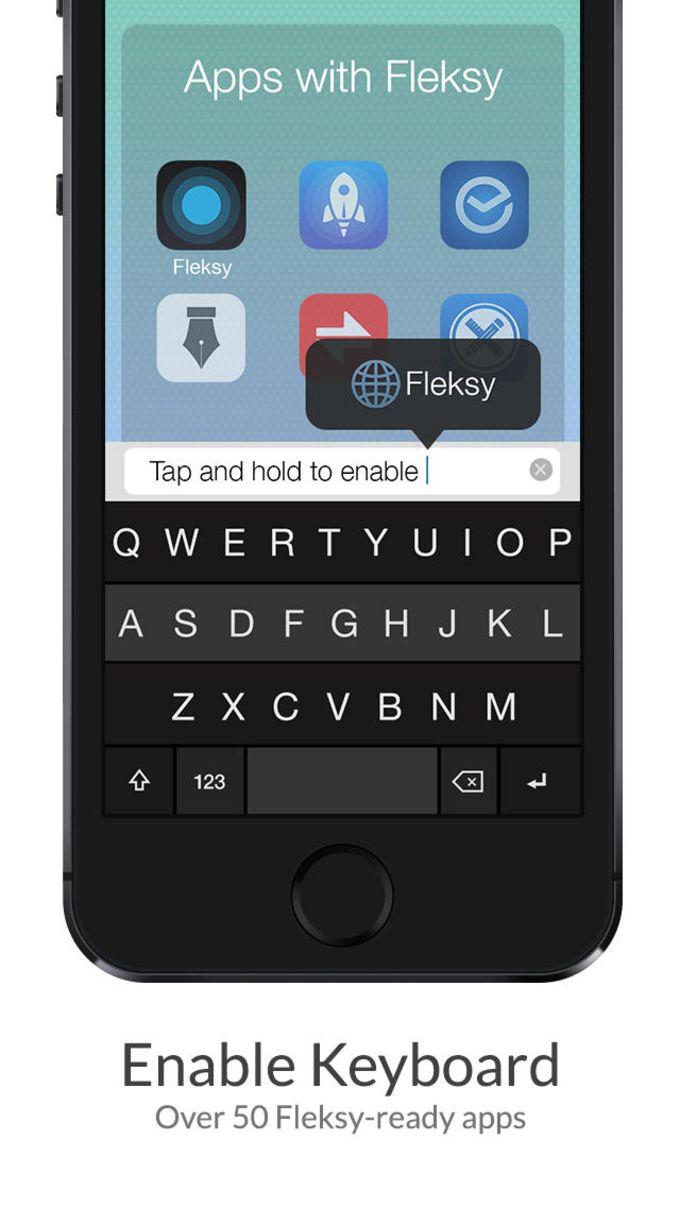 Fleksy Keyboard