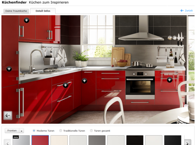 Download IKEA Küchenplaner für Web Apps