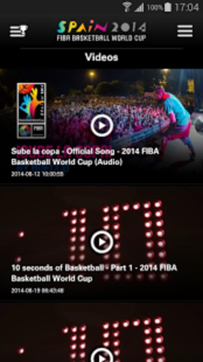 FIBA Game Center