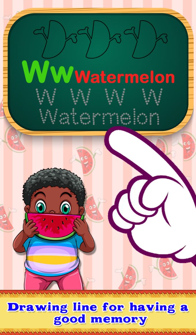 Fruit & Veg Alphabets For Kids