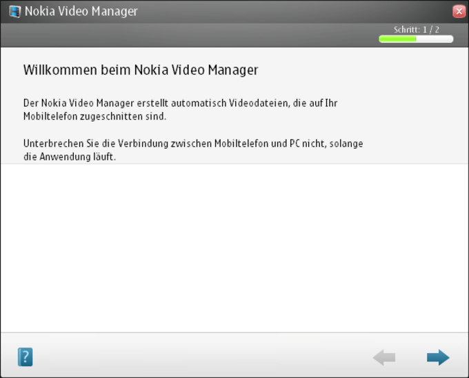 Nokia Video Manager