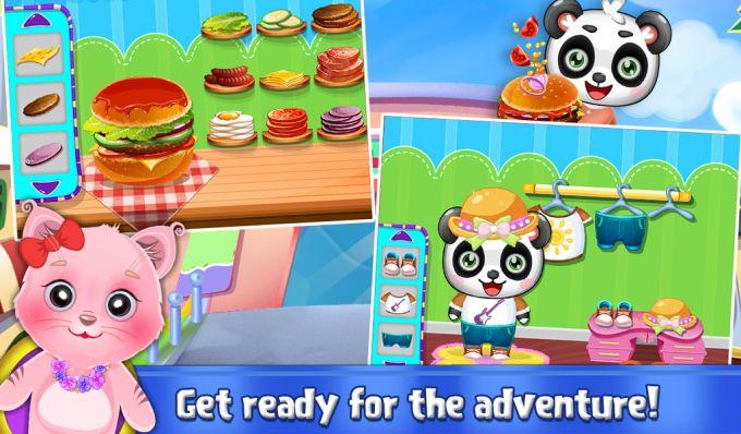 Sweet Baby Panda's Supermarket