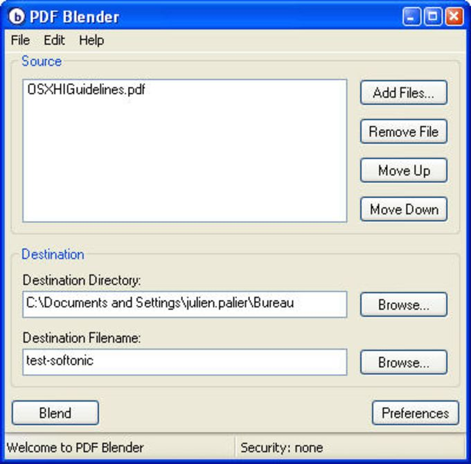 PDF Blender