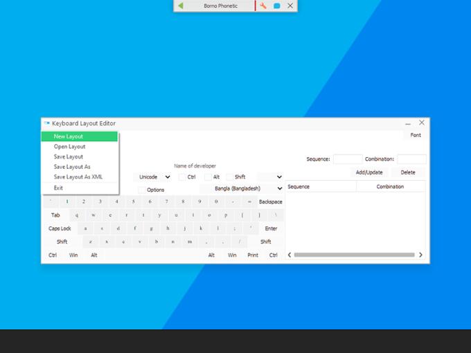 Borno - A FREE Bangla Typing Software
