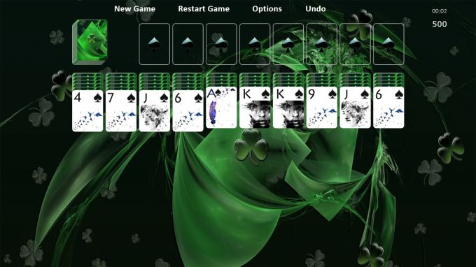 Lucky Spider Solitaire