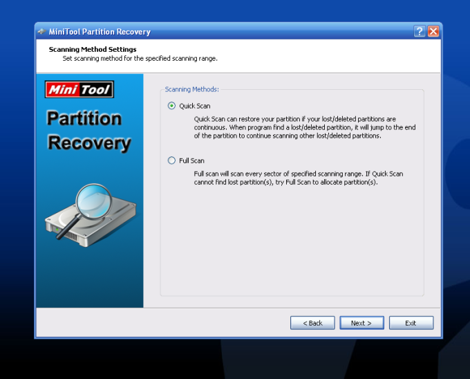 MiniTool Partition Recovery