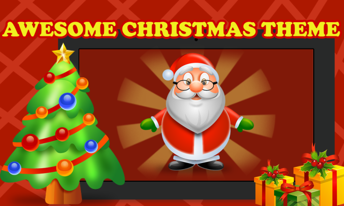 Santa Christmas Gift Drop