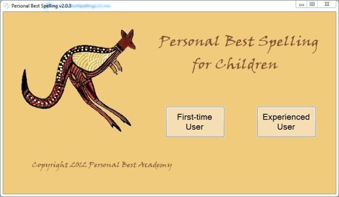 Personal Best Spelling for Children