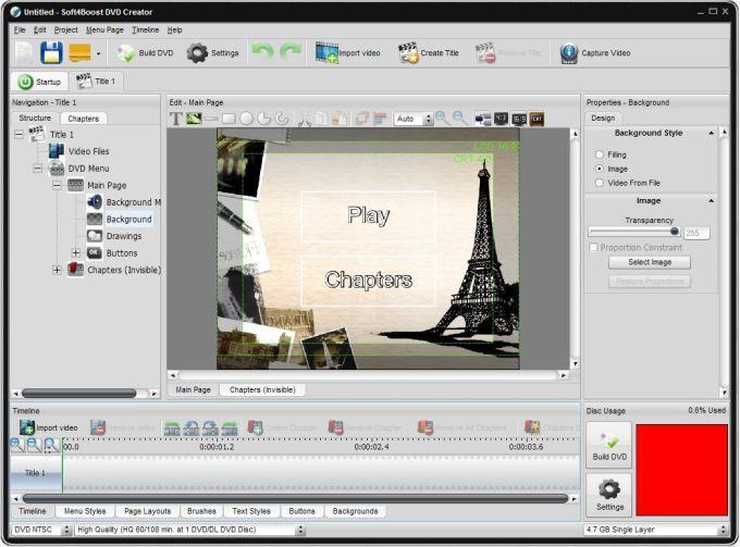 Soft4Boost DVD Creator