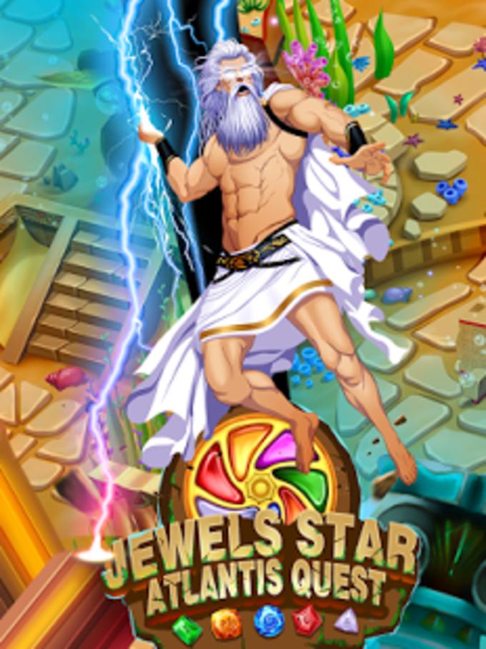 Jewels Star Atlantis Quest