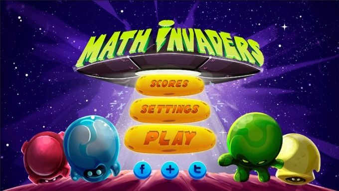 Math Invaders for Windows 10
