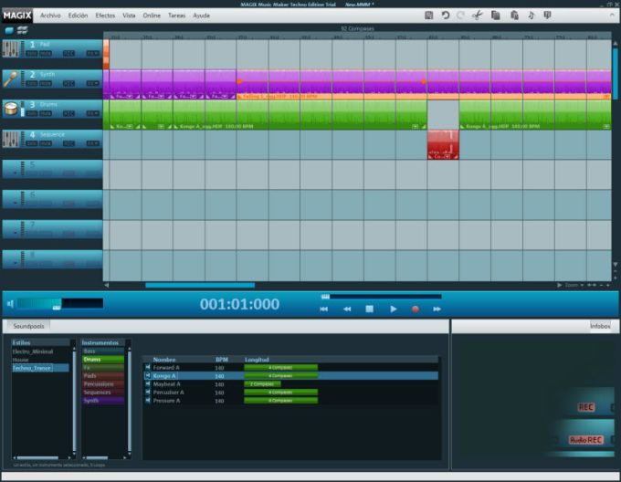 how to use magix music maker