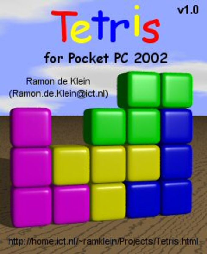 Tetris for Pocket PC 2002