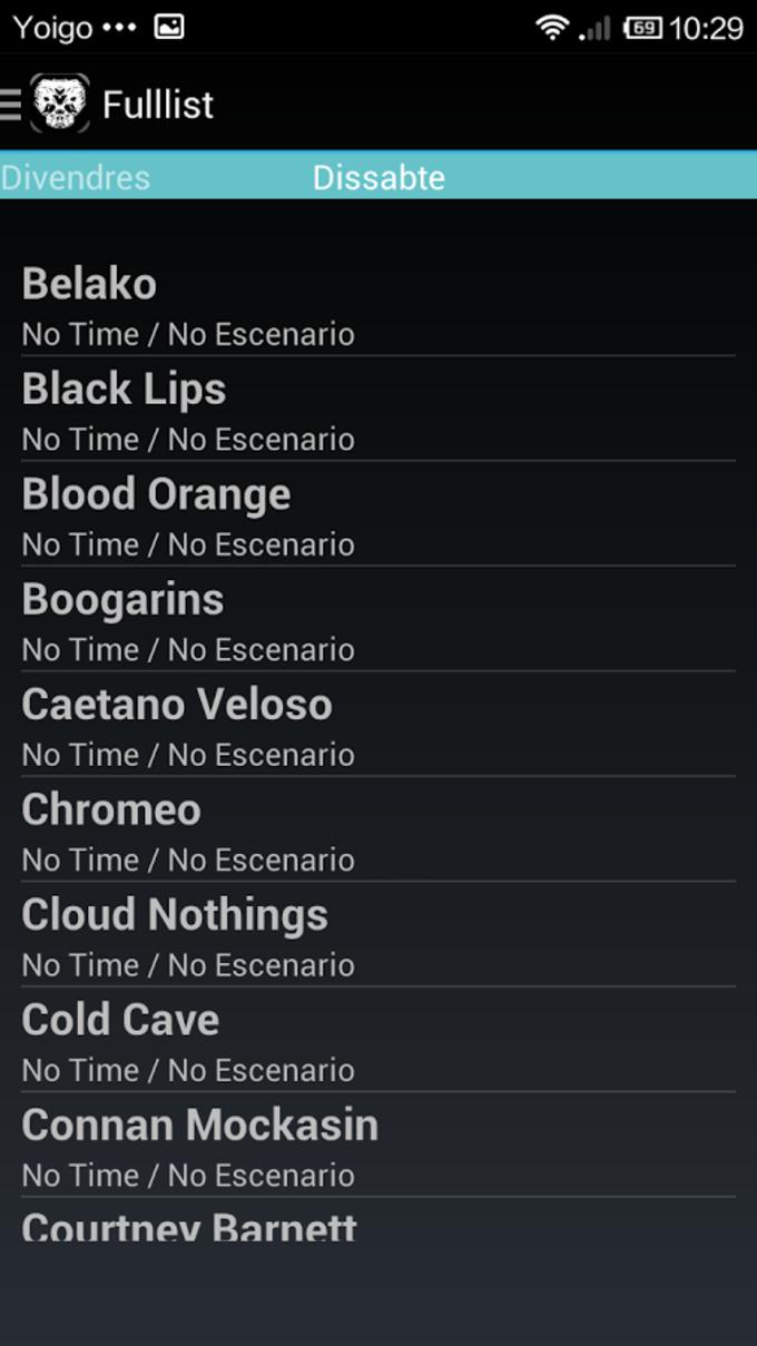 Cartel Primavera Sound 2014