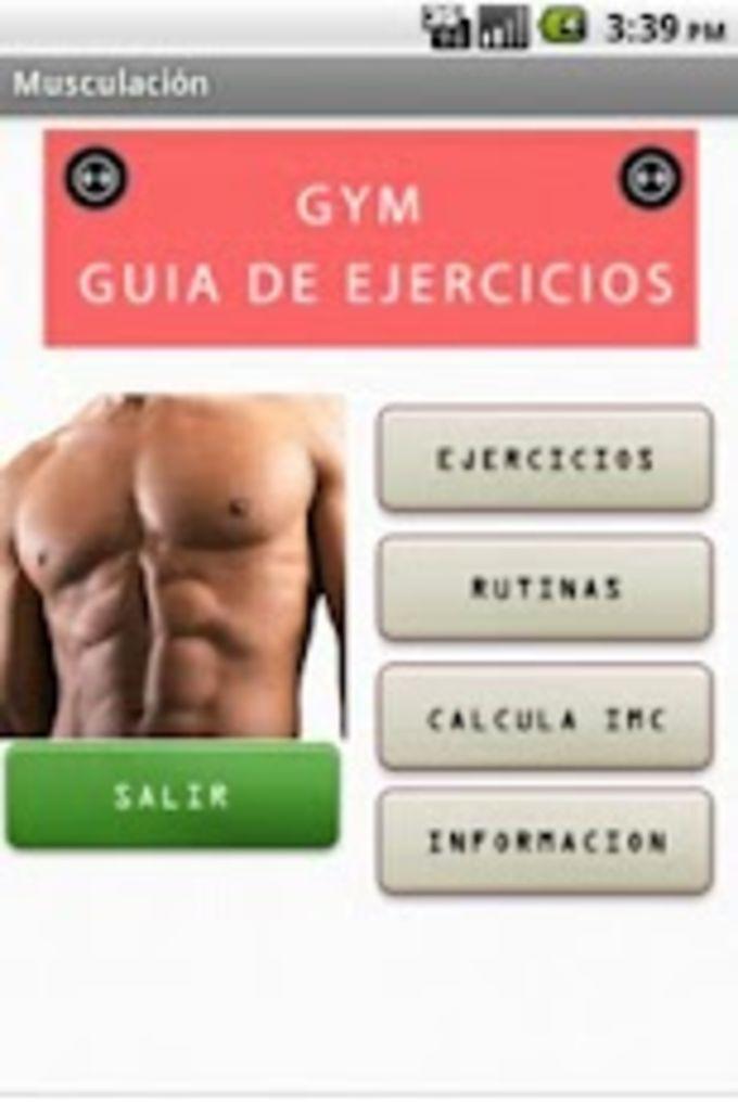 Gym ejercicios y entrenamiento