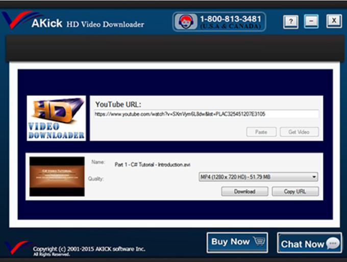 AKick Video Downloader