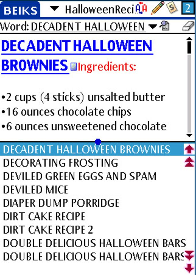 BEIKS Halloween Recipes