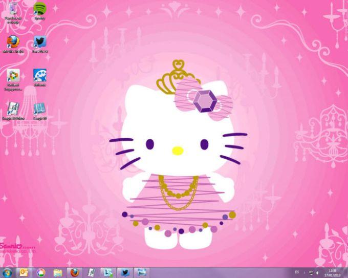 Fondo de pantalla Hello Kitty