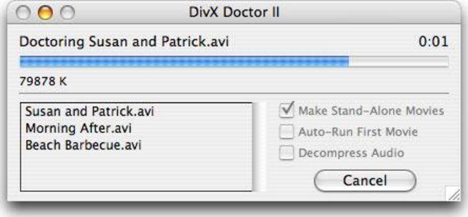 DivX Doctor II