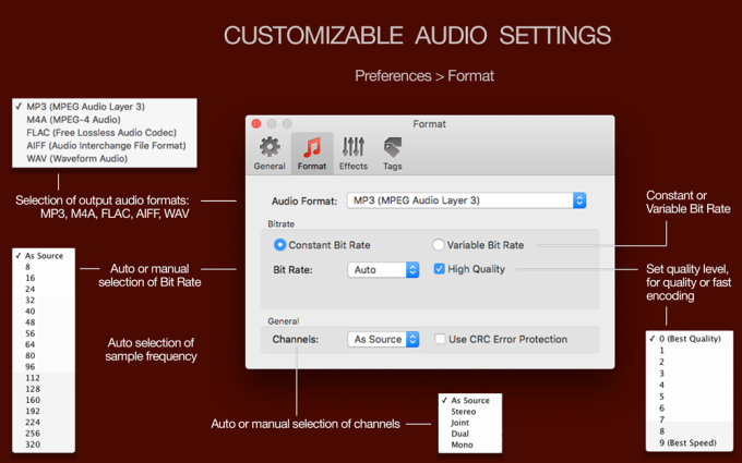 To Audio Converter for Mac