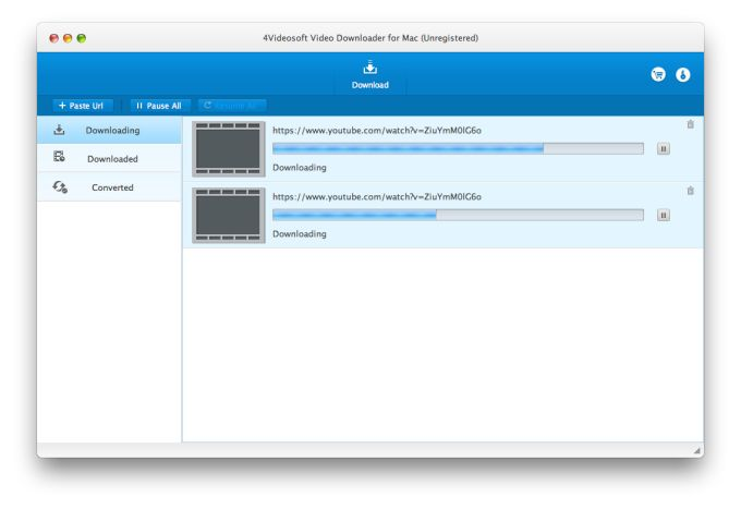 4Videosoft Video Downloader for Mac