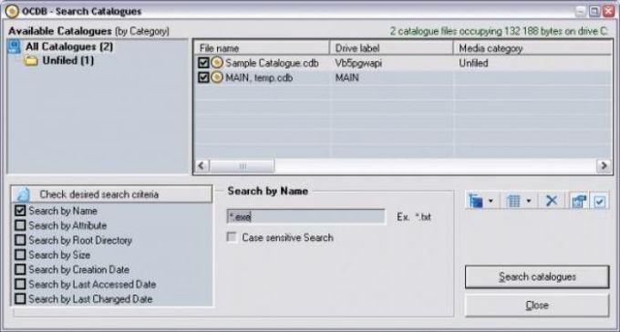 Offline CD Browser