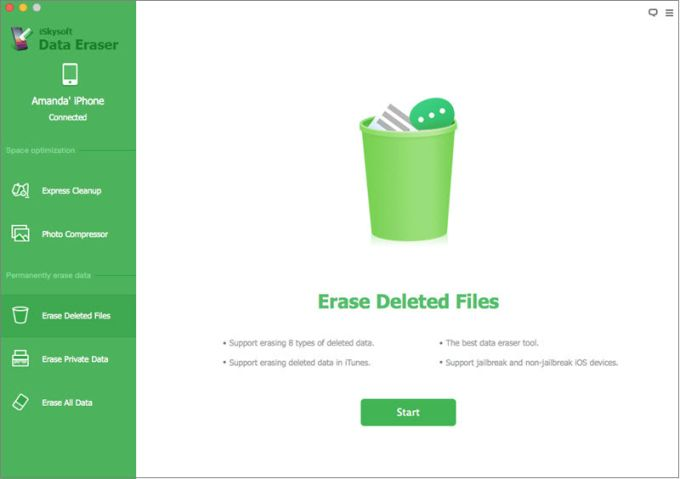 iSkysoft Data Eraser for Mac