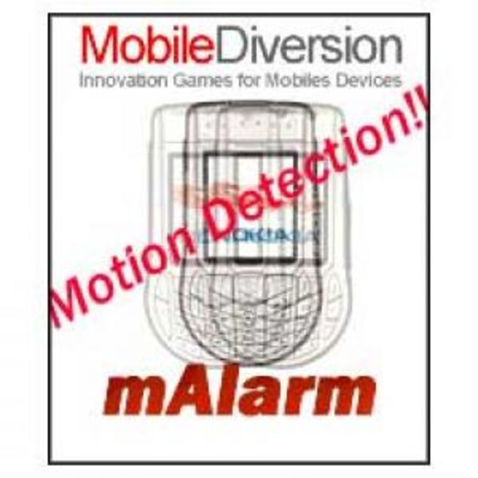 Mobile Alarm - Camera controlled