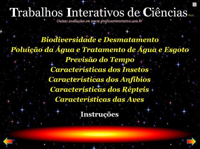 Trabalhos Interativos de Ciências 1
