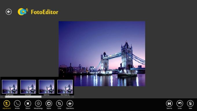 FotoEditor for Windows 10