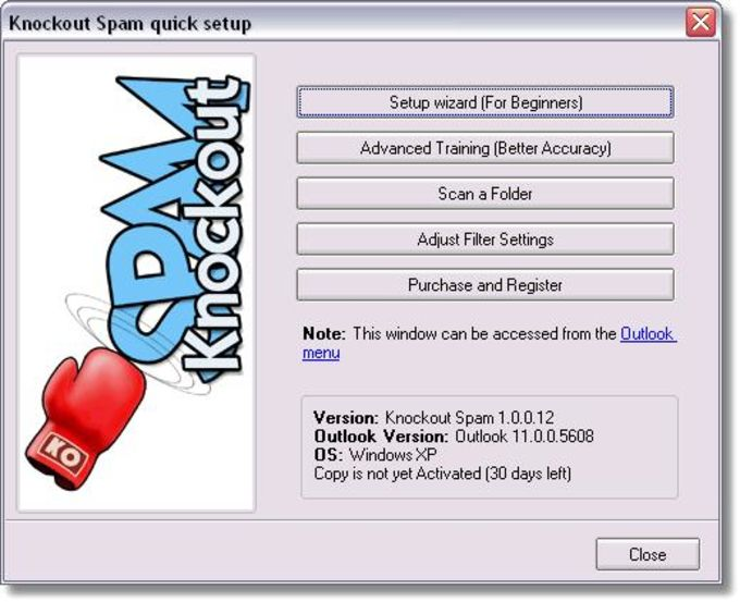Knockout Spam