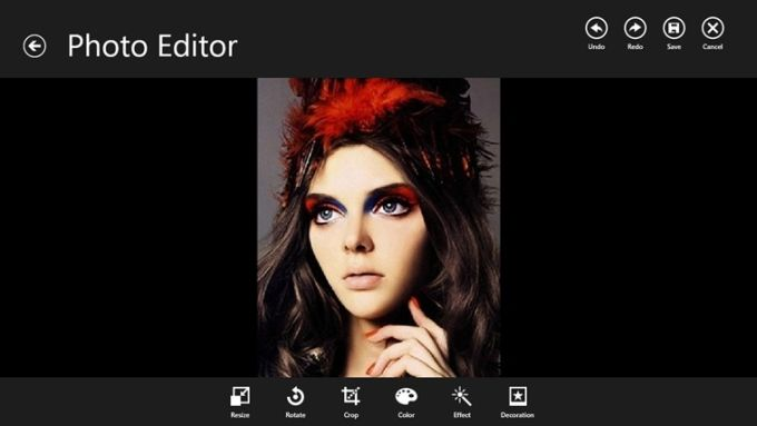 PhotoEditor for Windows 10