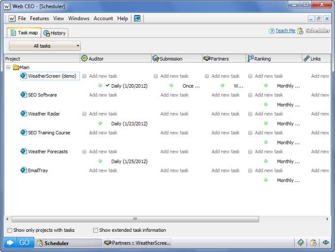 Web CEO Suite - SEO software download