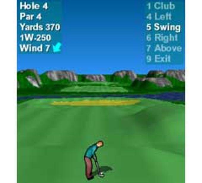 Par 72 Golf (Java)