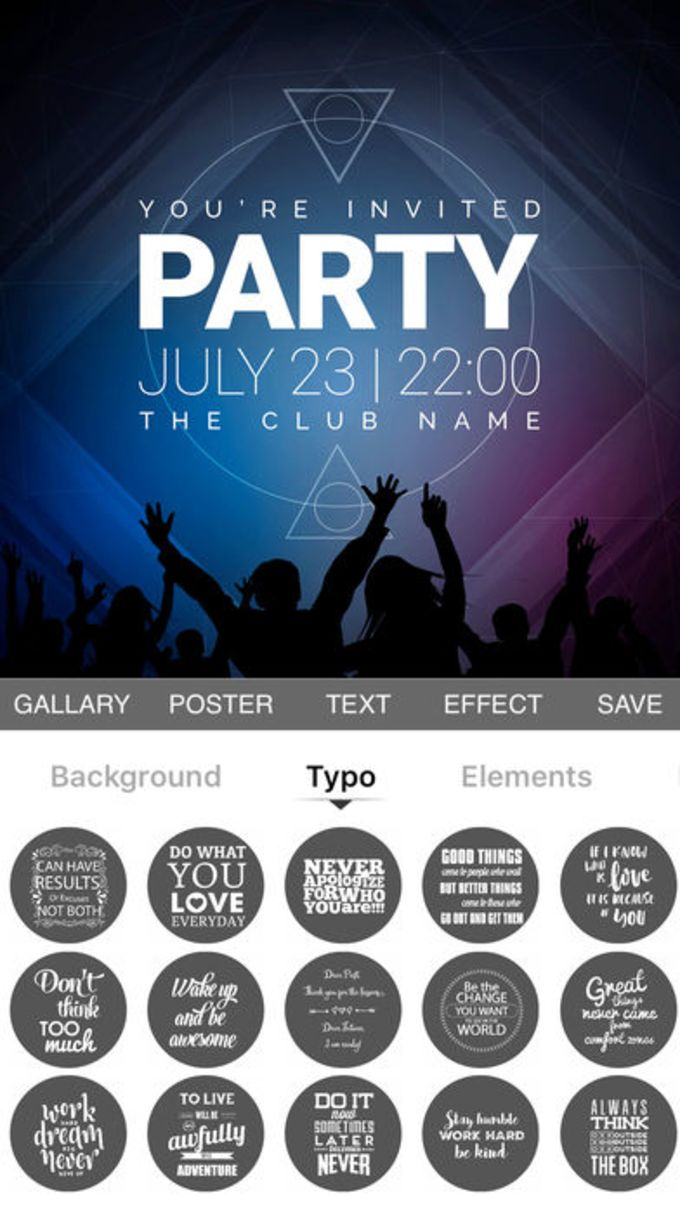 poster maker flyer creator for iphone download
