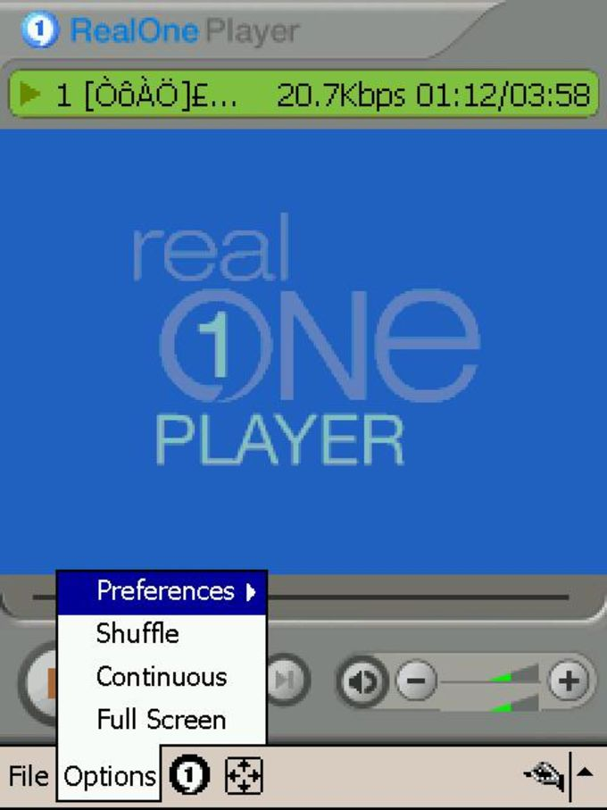 RealPlayer für Mobile