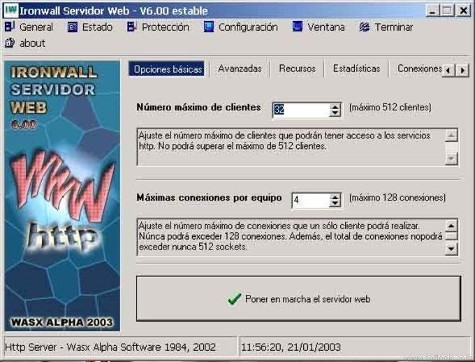Ironwall Servidor Web