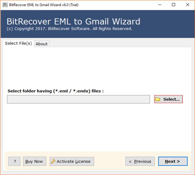 EML to Gmail Wizard